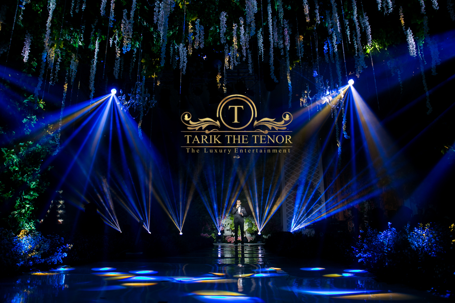 Tarik The Tenor On Stage
